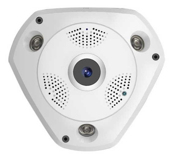 Camara Ip Seguridad Panoramica 360° Hd 960
