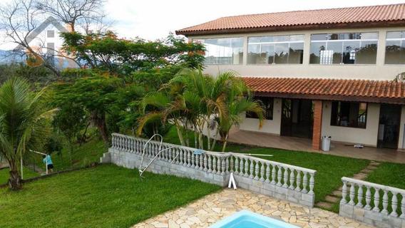 Chácara Com 4 Dormitórios À Venda, 3000 M² Por R$ 500.000,00 - Canjicas - Arujá/sp - Ch0012
