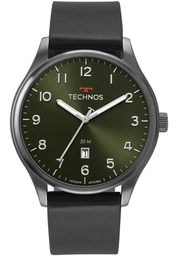 Relógio Technos Masculino Racer 2115mvb/2v Couro Original Nf