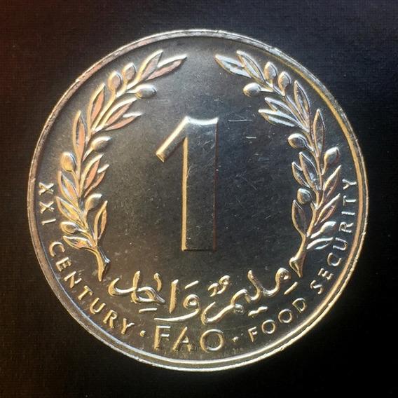 Túnez - Moneda De 1 Millim 2000 ¡ Nueva - Impecable !