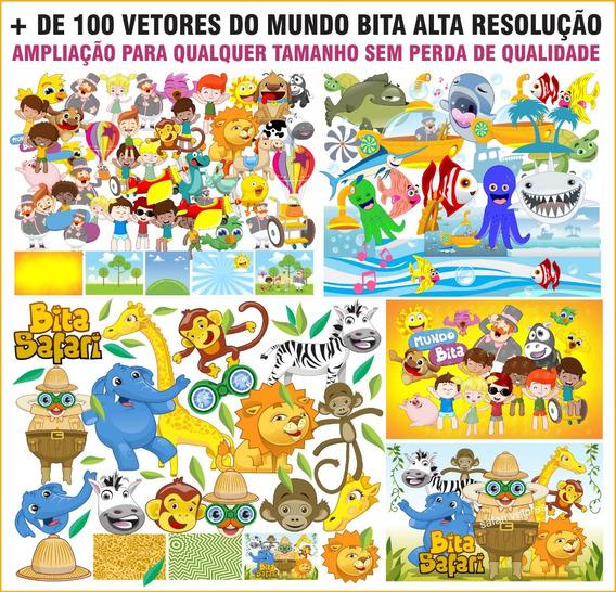 + De 100 Vetores Mundo Bita Cdr Png Pdf Alta Resolução