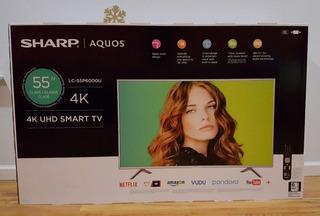 Sharp Aquos Lc-55cug8362ks Televisor Led Smart 4k Ultra Hd