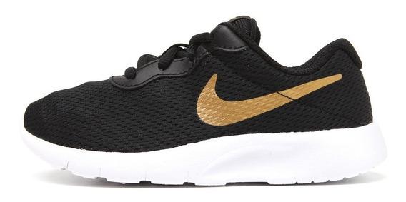 Tênis Nike Infantil Tanjun Preto Menina 818382016
