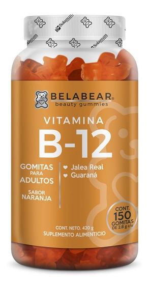 Suplemento Vitamina B12 150 Gomitas Elasticidad Belabear