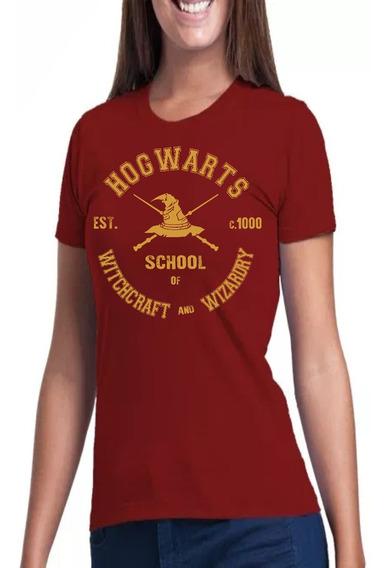 Camisa, Camiseta Baby Look Harry Potter Hogwarts Quadribol