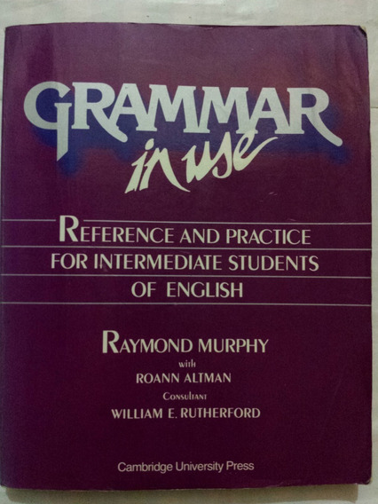 Livro Grammar In Use Raymond Murphy Reference Practice Inter
