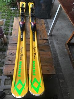 Esqui Volki Con Fijaciones Tigershark Regulables 1.68 / 12ft