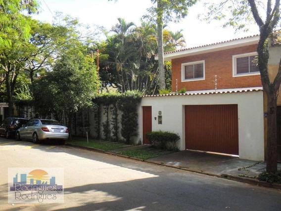 Casa Residencial Para Venda E Locação, Jardim Morumbi, São Paulo. - Ca0062