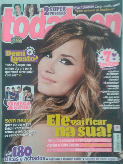 Revista Todateen 197 - Demi Lovato