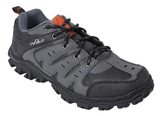 Zapatillas Trekking Hombre Wake 0201 Cordon Urbanas
