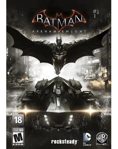 Jogo Batman Arkham Knight Pc *novo*