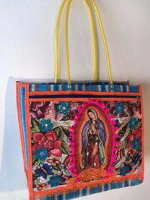 A Virgen Con Cremallera De Bolso Mano Guadalupe Hecho 8PXZNk0wnO