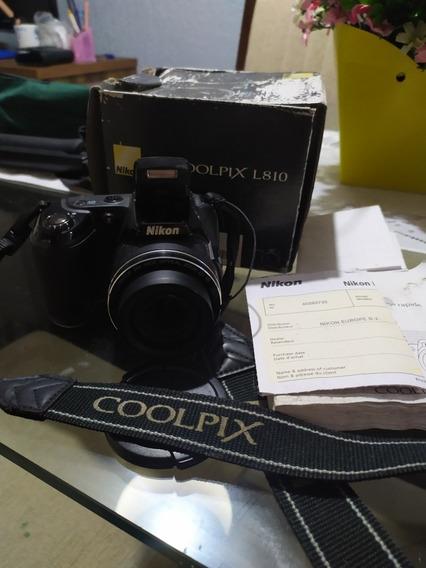 Câmera Semi Profissional Nikon Coolpix L810