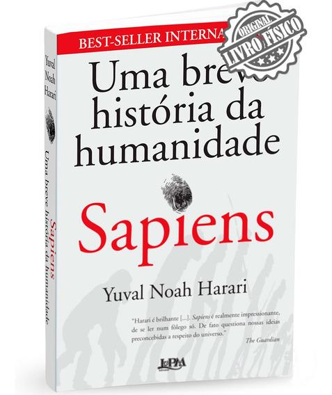 Livro Sapiens - Uma Breve História Da Humanidade
