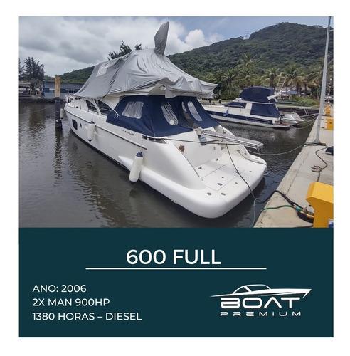 600 Full, 2006, 2x Man 900hp - Phantom - Sedna - Ferretti