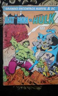 Batman Vs Hulk ! Marvel Dc Crossover En Portuges