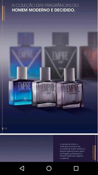 Perfumes Mini Empire Hinode, Kit 4 Unidades 25 Ml Cada.