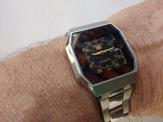 Relógio Seiko 5 Automático Perfeito Parece Novo Revisado A