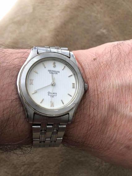 Relógio Seculus Long Life.
