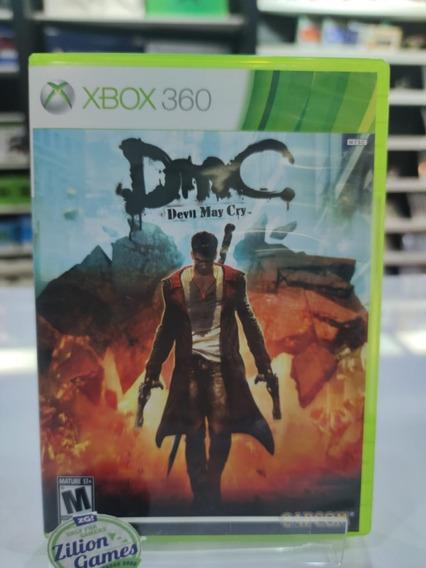 Dmc Devil My Cry Xbox 360 Original - Seminovo