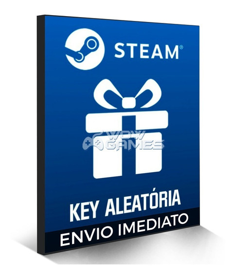 5 Jogos Steam Aleatório Pc Game Key Original - Random Key