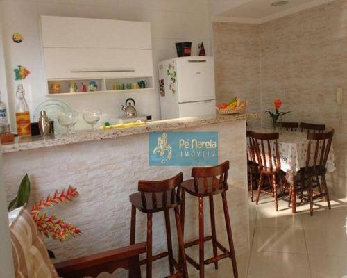 Imagem 1 de 14 de Apartamento Com 1 Dormitório À Venda, 52 M² Por R$ 240.000 - R1f371a - Canto Do Forte - Praia Grande/sp - Ap0411