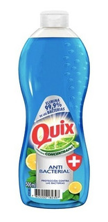 Lava Loza Quix Anti Bacterial 500ml (6 Unidades)