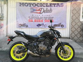 Yamaha, Mt 07, Modelo 2018