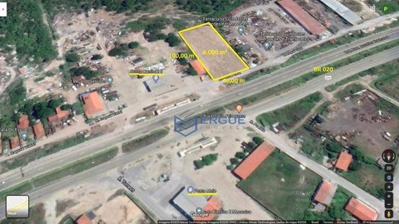 Terreno, 4000 M² - Venda Por R$ 800.000,00 Ou Aluguel Por R$ 4.000,00/mês - Parque Potira - Caucaia/ce - Te0042