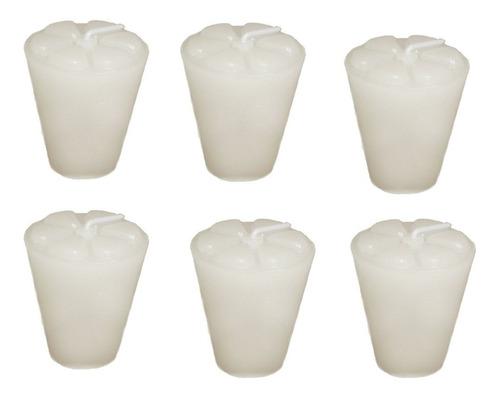 10 Velas Refil 11 Cores Copinho De Pinga Decoração Branco
