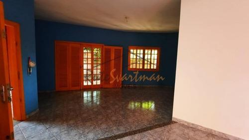 Casa Com 3 Dormitórios Para Alugar, 211 M² - Barão Geraldo - Campinas/sp - Ca2888