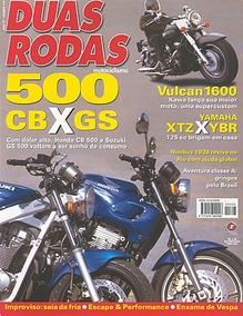 2r.328 Jan03- Honda Cb500 Suzuki Yama Ybr125 Xtz Kawasa1600