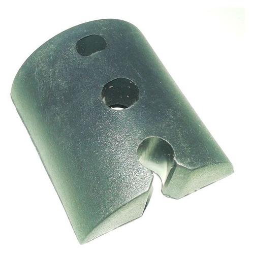 Calço Telha Ondulada Pequeno 3 Furos Kit 10 Peça(s) Preto
