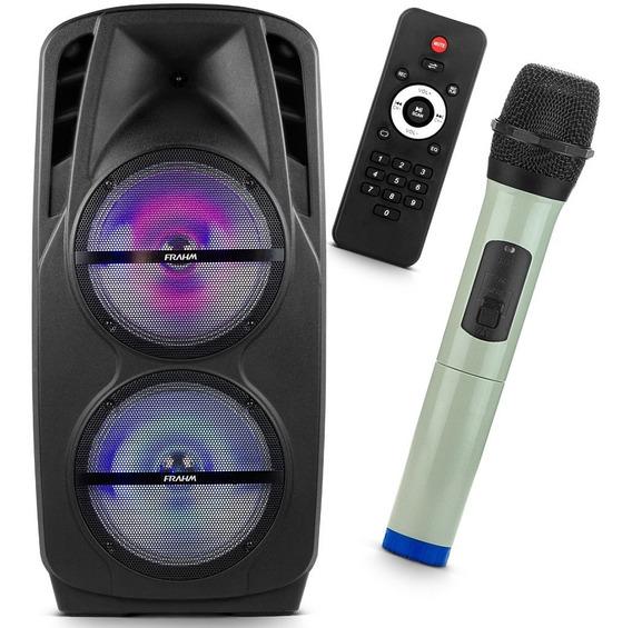 Caixa De Som Frahm Palestras Aulas Karaokê Inclui Microfone
