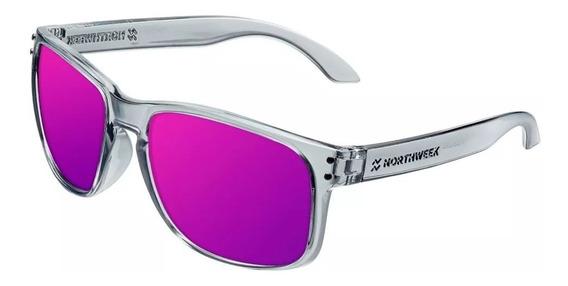 Gafas Northweek Bold Bright Grey- Purple Hombre Mujer