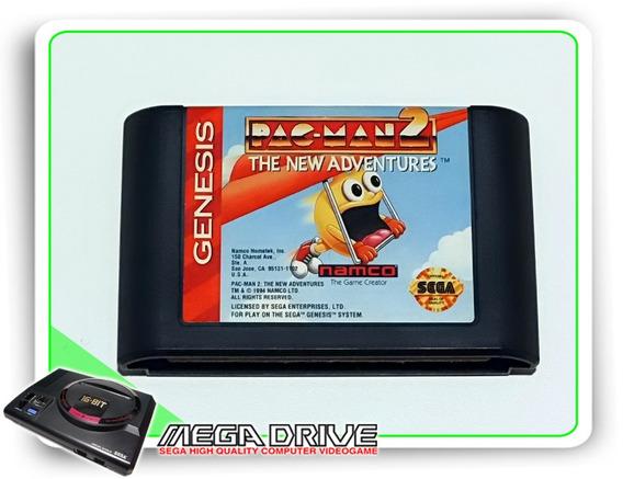 Pac-man 2 The New Adventures Original Mega Drive / Genesis