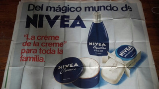 Afiche Publicidad Nivea Coleccion