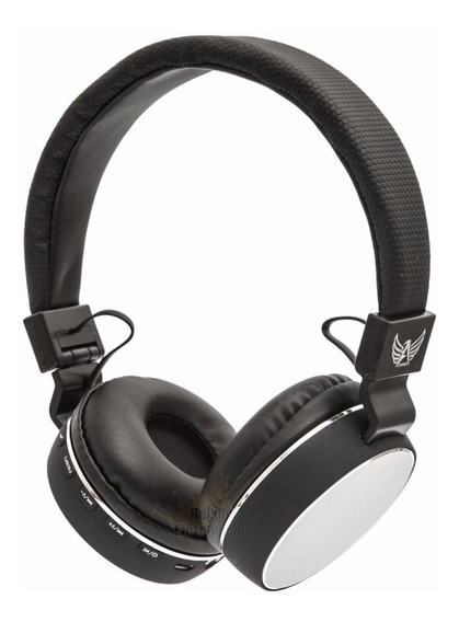 Fone Ouvido Headphone Bluetooth Mp3 Rádio Fm Micro Sd A-857