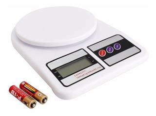 Balanza Digital De Cocina Tara 1gr A 3 Kg En Caja A Pilas