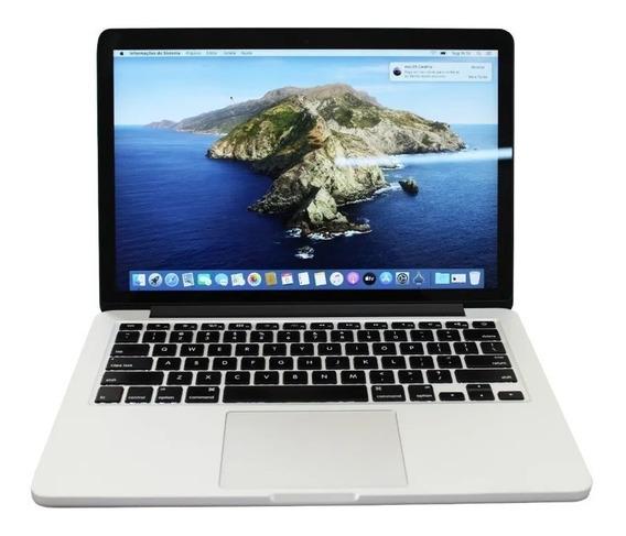 Macbook Pro 2015 A1502 Retina I5 8gb 256ssd + Carregador