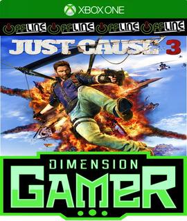 Just Cause 3 - Xbox One - No Codigo - Off-line