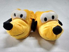 Pantufas Adulto E Infantil Mickey Minie Pluto Cachorro 20/43