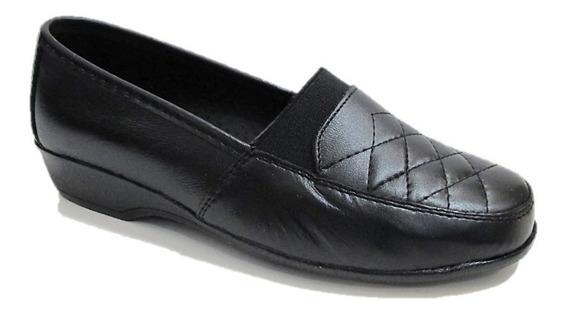 Zapatos De Descanso Mujer Florenza Piel Cómodos 1001