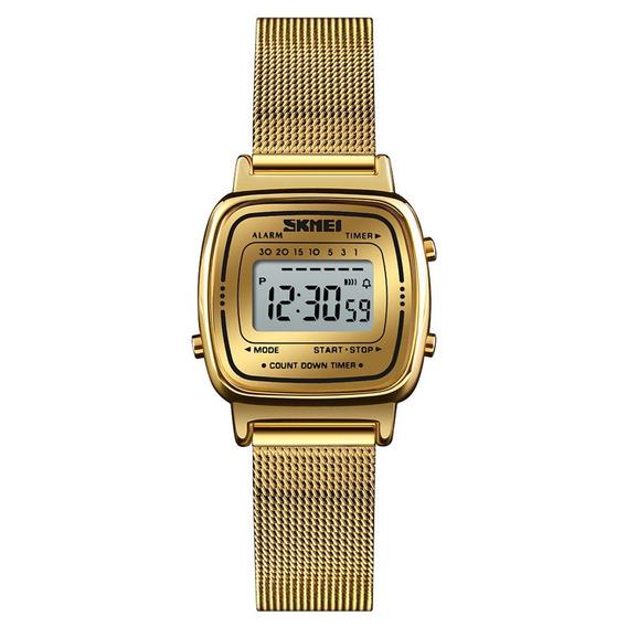 Skmei 1252 Mulheres Relógio 30m Multifuncionais À Prova D