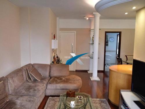 Apartamento Mobiliado Para Locação 4 Dormitórios 142 M² - Lourdes/bh - Ap4619