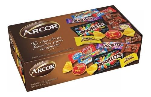 Caja Arcor Seleccion Marron - Lollipop