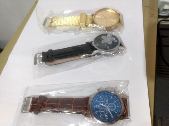 Kit 10 Relógios Importados