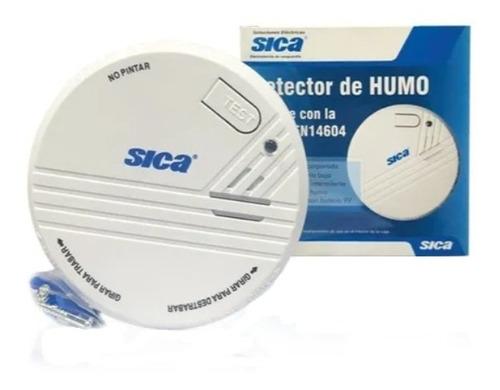 Detector Humo Autonomo Sica Oficial Bateria 9v