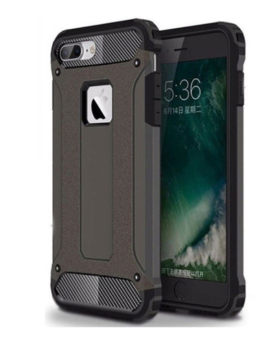 Capa Anti-impacto Rugged  Apple iPhone 7 Plus / 8 Plus Preta