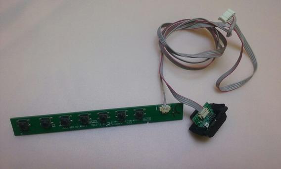 Teclado Sensor Remoto Tv Led Philco Ph28d27d Led Seminova